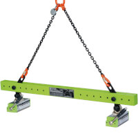 Flaig Lasthebemagnettraverse FX-LT Tragkraft bei Flachmaterial max. 600